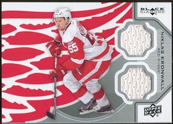 2012/13 Upper Deck Black Diamond Dual Jerseys #DETNK Niklas Kronwall C