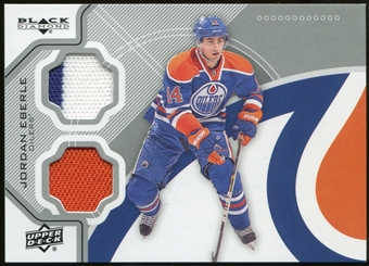 2012/13 Upper Deck Black Diamond Dual Jerseys #EDMJE Jordan Eberle C