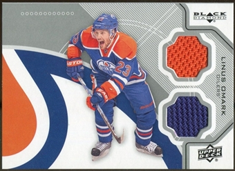 2012/13 Upper Deck Black Diamond Dual Jerseys #EDMLO Linus Omark C