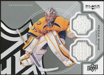 2012/13 Upper Deck Black Diamond Dual Jerseys #GOALIEPR Pekka Rinne D