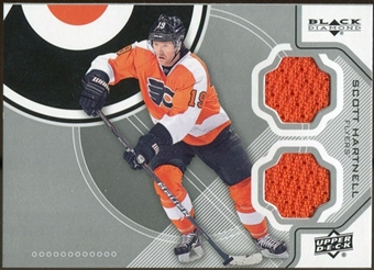 2012/13 Upper Deck Black Diamond Dual Jerseys #PHISH Scott Hartnell D