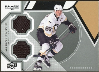 2012/13 Upper Deck Black Diamond Dual Jerseys #PITTML Mario Lemieux B