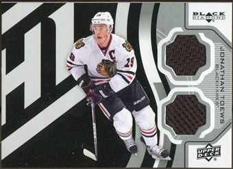 2012/13 Upper Deck Black Diamond Dual Jerseys #STARJT Jonathan Toews C