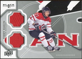 2012/13 Upper Deck Black Diamond Dual Jerseys #TC1CE Cody Eakin TC E