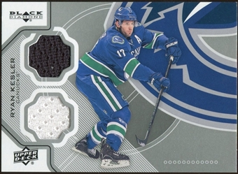 2012/13 Upper Deck Black Diamond Dual Jerseys #VANRK Ryan Kesler C