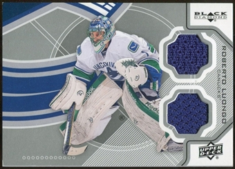 2012/13 Upper Deck Black Diamond Dual Jerseys #VANRL Roberto Luongo D
