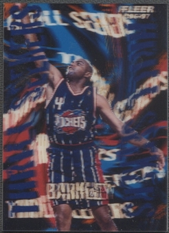 1996/97 Fleer #2 Charles Barkley Thrill Seekers