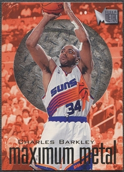 1996/97 Metal #1 Charles Barkley Maximum Metal
