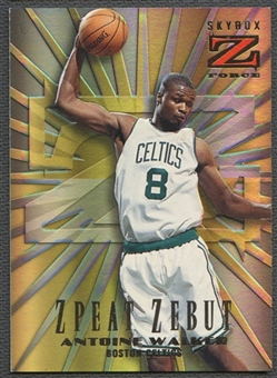 1996/97 Z-Force #17 Antoine Walker Zebut Z-peat