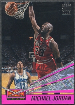 1993/94 Stadium Club #4 Michael Jordan Beam Team