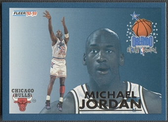 1992/93 Fleer #6 Michael Jordan All-Stars