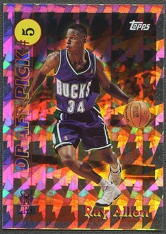 1996/97 Topps #5 Ray Allen Draft Redemption