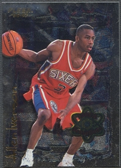 1996/97 Fleer #7 Allen Iverson Rookie Sensations