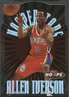 1997/98 Hoops #H7 Allen Iverson HOOPerstars