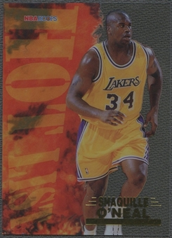 1996/97 Hoops #15 Shaquille O'Neal Hot List