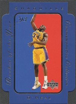 1996/97 Upper Deck #RC5 Shaquille O'Neal Rookie of the Year Collection