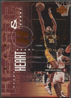 1998/99 Upper Deck #68 Reggie Miller & Mark Jackson Heart & Soul Bronze #060/100