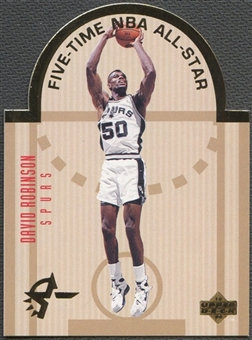 1993/94 Upper Deck #W13 David Robinson SE Die Cut All-Stars
