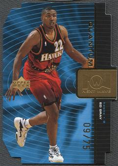 1998/99 Upper Deck #NW17 Ed Gray Next Wave Gold #09/75