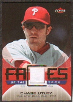 2007 Fleer Ultra Faces of the Game Materials #CU Chase Utley