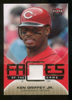 2007 Fleer Ultra Faces of the Game Materials #KG Ken Griffey Jr.