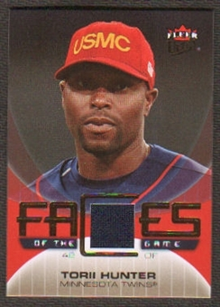 2007 Fleer Ultra Faces of the Game Materials #TH Torii Hunter
