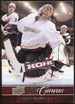 2012/13 Upper Deck Canvas #C3 Jonas Hiller