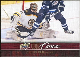2012/13 Upper Deck Canvas #C6 Tuukka Rask