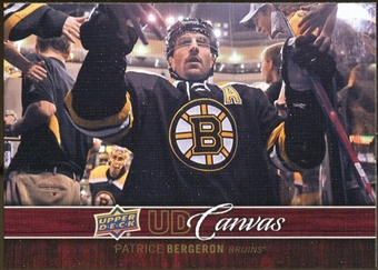 2012/13 Upper Deck Canvas #C7 Patrice Bergeron