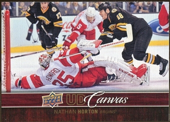 2012/13 Upper Deck Canvas #C10 Nathan Horton