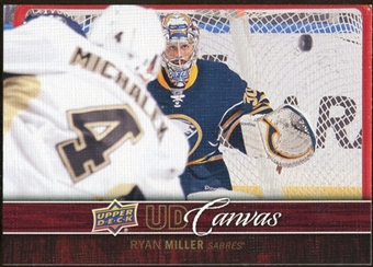2012/13 Upper Deck Canvas #C12 Ryan Miller