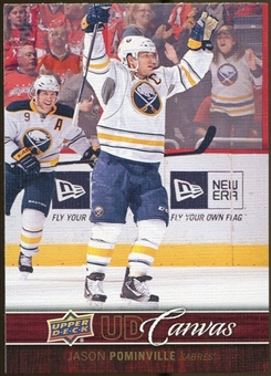 2012/13 Upper Deck Canvas #C13 Jason Pominville