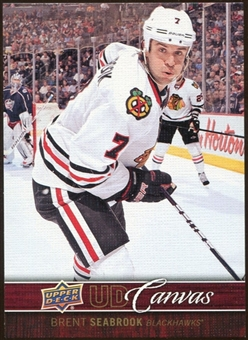 2012/13 Upper Deck Canvas #C20 Brent Seabrook