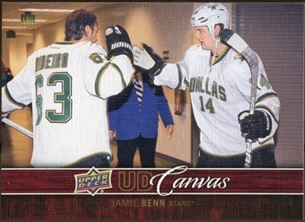 2012/13 Upper Deck Canvas #C28 Jamie Benn