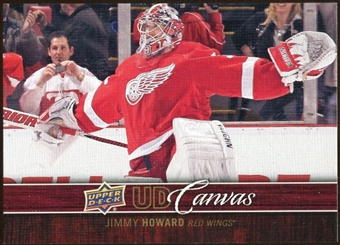 2012/13 Upper Deck Canvas #C29 Jim Howard
