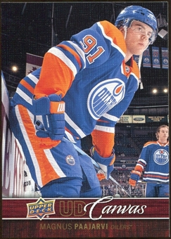2012/13 Upper Deck Canvas #C33 Magnus Paajarvi