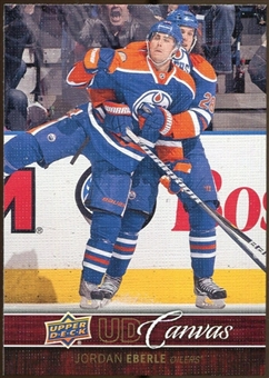 2012/13 Upper Deck Canvas #C34 Jordan Eberle