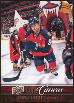 2012/13 Upper Deck Canvas #C36 Stephen Weiss
