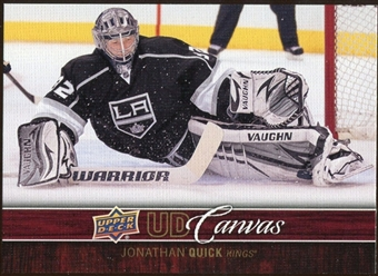 2012/13 Upper Deck Canvas #C38 Jonathan Quick