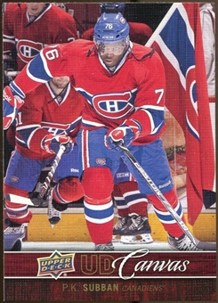 2012/13 Upper Deck Canvas #C46 P.K. Subban