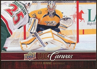 2012/13 Upper Deck Canvas #C47 Pekka Rinne