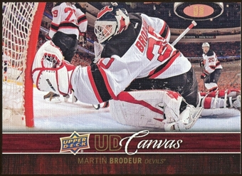 2012/13 Upper Deck Canvas #C50 Martin Brodeur