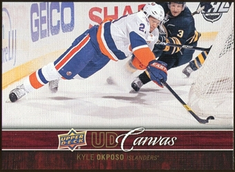 2012/13 Upper Deck Canvas #C53 Kyle Okposo