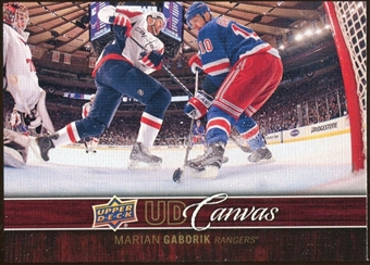 2012/13 Upper Deck Canvas #C56 Marian Gaborik
