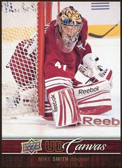 2012/13 Upper Deck Canvas #C65 Mike Smith