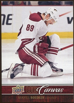 2012/13 Upper Deck Canvas #C66 Mikkel Boedker
