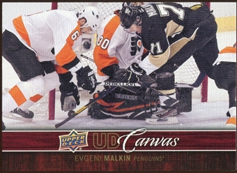2012/13 Upper Deck Canvas #C68 Evgeni Malkin