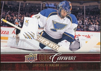 2012/13 Upper Deck Canvas #C72 Jaroslav Halak