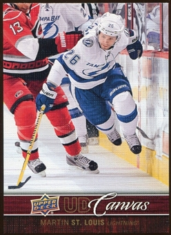 2012/13 Upper Deck Canvas #C77 Martin St. Louis