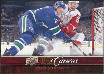 2012/13 Upper Deck Canvas #C82 Ryan Kesler